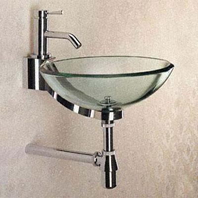 Baseless Glass Sink Northern VA Arlington