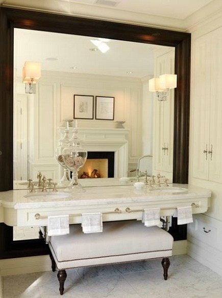 Bathroom vanities everything you need to know including for Custom made bathroom mirrors