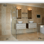 Travertine Bathroom Flooring