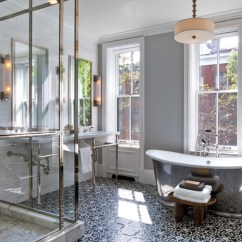 Cement Tile Kitchen Floor Mats Trend Alert Patterned Tiles Bath Trends