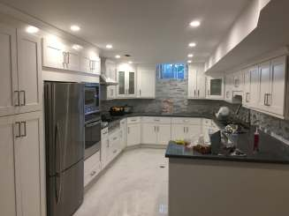 Complete kitchen remodel longview