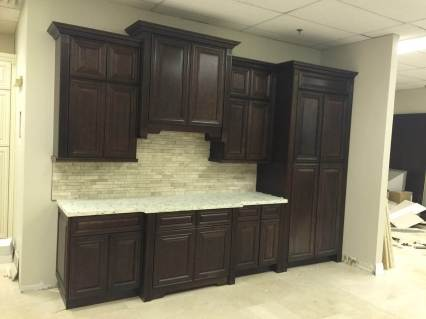 Kitchen Cabinets Display