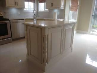 Kitchen Island Close Up