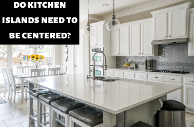 Do Kitchen Islands Need To Be Centered Kitchen Bed Bath
