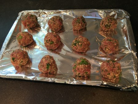 Broccoli Rabe Crockpot Meatballs