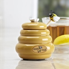 Kitchen Tongs Appliance Sale Joie Mini Honey Pot & Dipper - Buddies