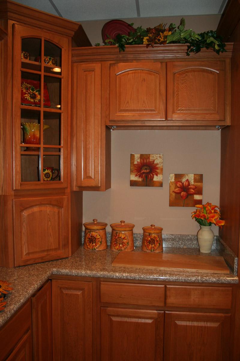 Cinnamon oak Kitchen cabinets Design  kitchen cabinets