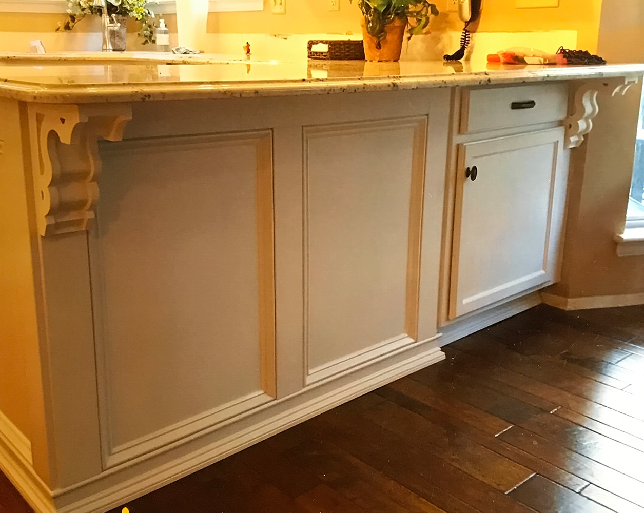 kitchen cabinet restoration delta trinsic faucet refinishing st louis mo  wow blog