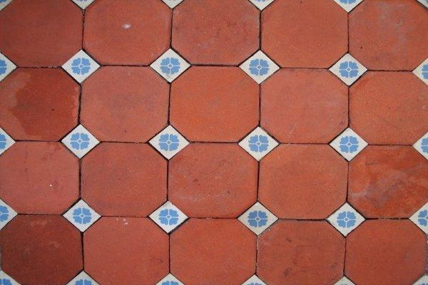 Quarry and Terra-Cotta Tile Kitchen Floors