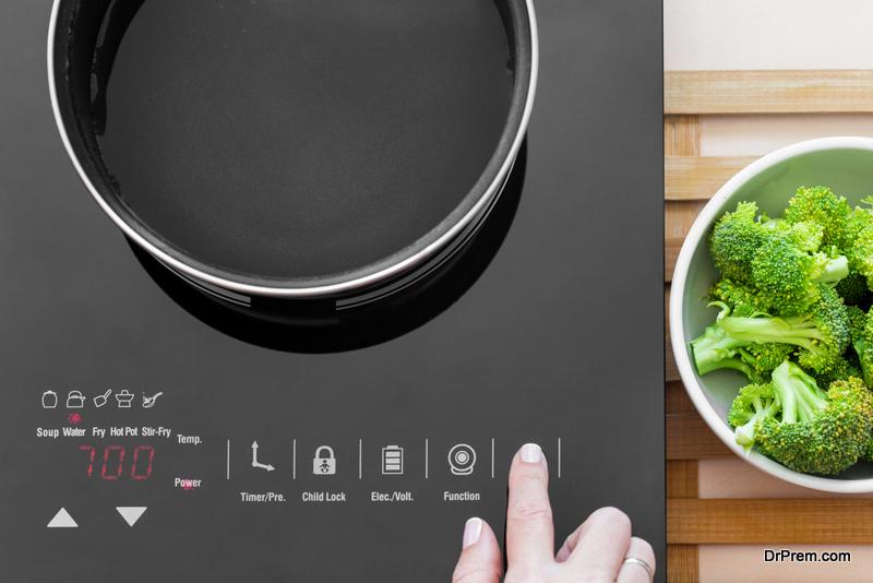modern kitchen appliances