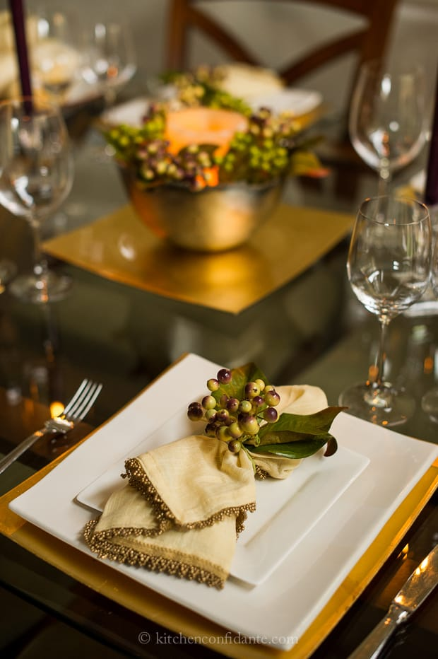 Holiday Tablescape Challenge Understated Elegance