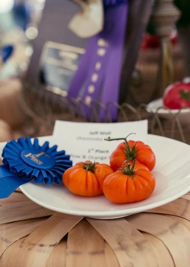 2013 Kendall-Jackson Heirloom Tomato Festival | www.kitchenconfidante.com | 1st Place Tomatoes