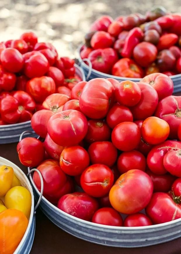 2013 Kendall-Jackson Heirloom Tomato Festival | www.kitchenconfidante.com | Tomatoes