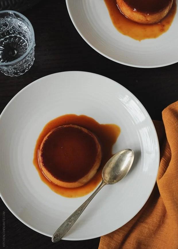 Pumpkin Leche Flan | www.kitchenconfidante.com