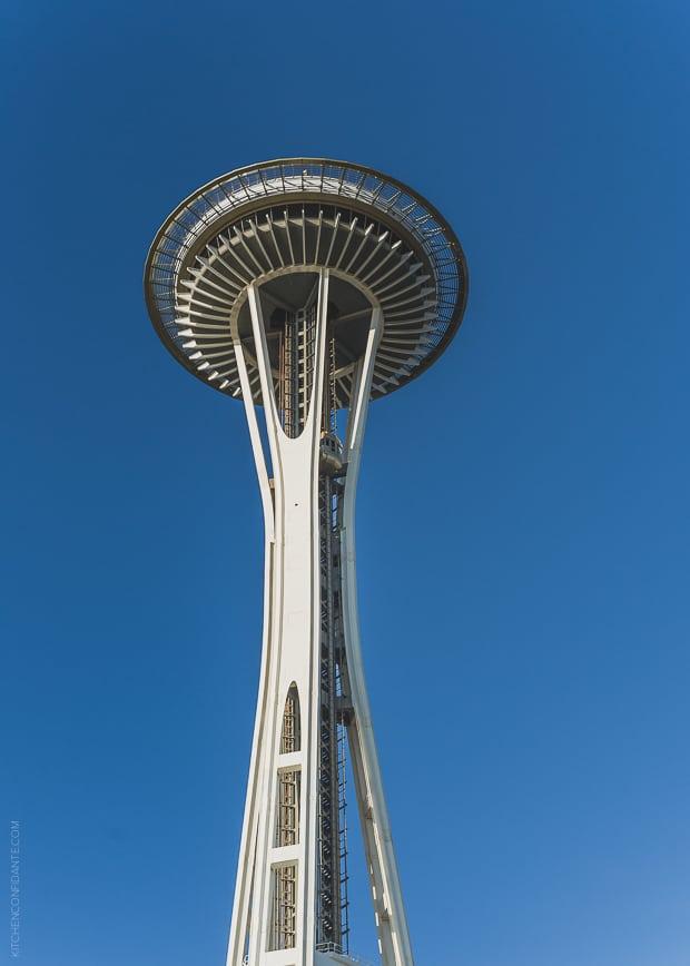 Scenes from Seattle   www.kitchenconfidante.com   Space Needle