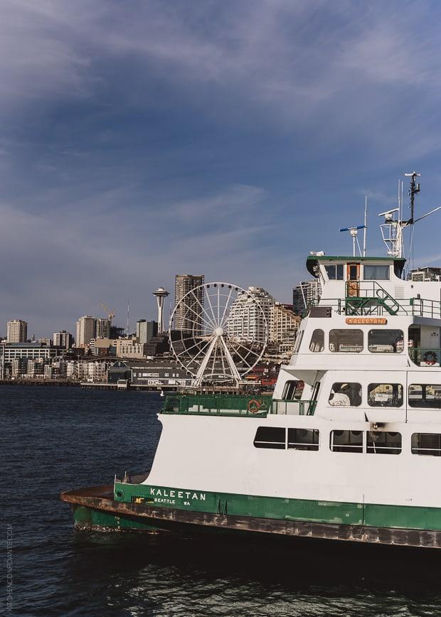 Scenes from Seattle   www.kitchenconfidante.com   Ferry