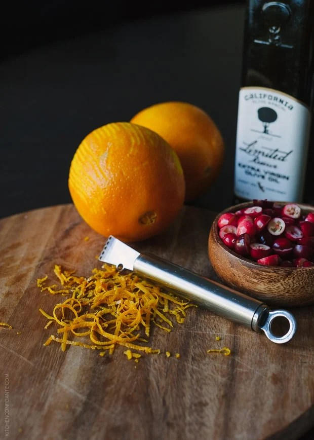 Cranberry Orange Olive Oil Cake | www.kitchenconfidante.com