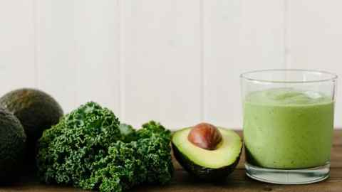 Avocado Kale Superfood Smoothie