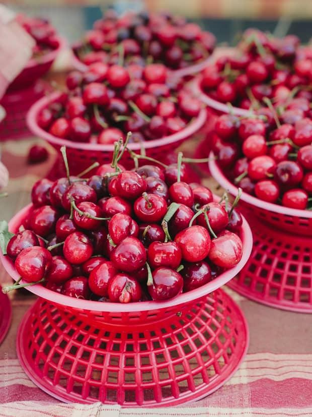 Cherry Nutella Scones | Farmers Market Cherries | www.kitchenconfidante.com