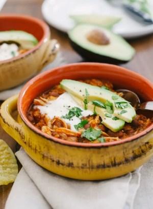 Chicken Chili   www.kitchenconfidante.com   A delicious chili in 30 minutes.