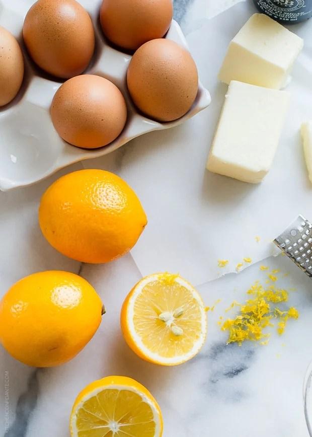MEYER LEMON BUTTERMILK PUDDING | www.kitchenconfidante.com | Bring the sunshine in with Meyer lemons.