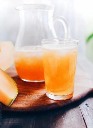 Cantaloupe Juice | www.kitchenconfidante.com |