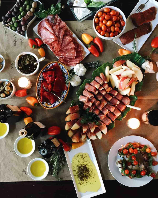 Antipasti at the Better Blog Retreat 2015 | www.kitchenconfidante.com