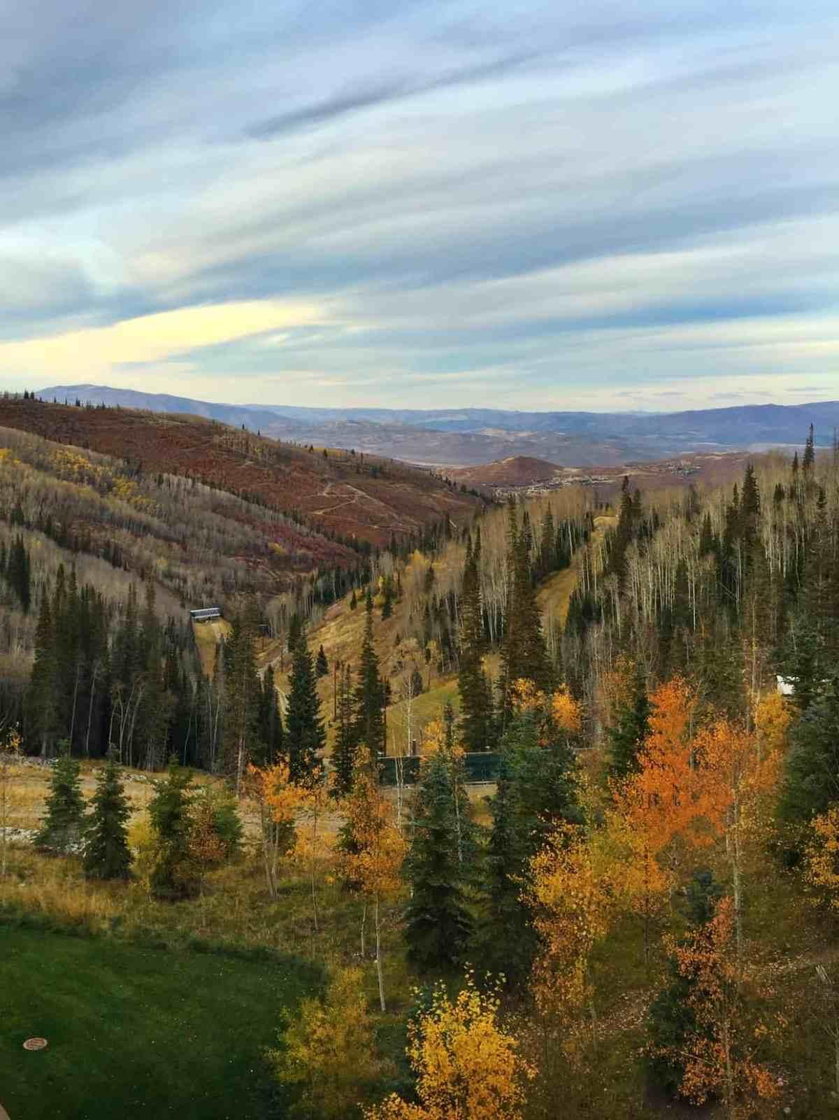 Views of Deer Valley Resort at Better Blog Retreat 2015 | www.kitchenconfidante.com