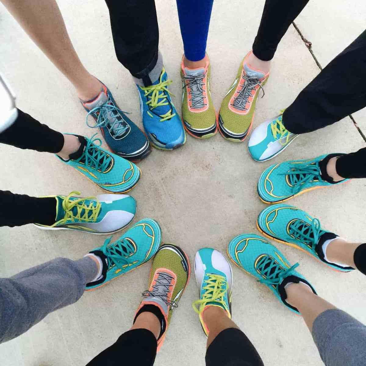 Altra Running Shoes at Better Blog Retreat 2015