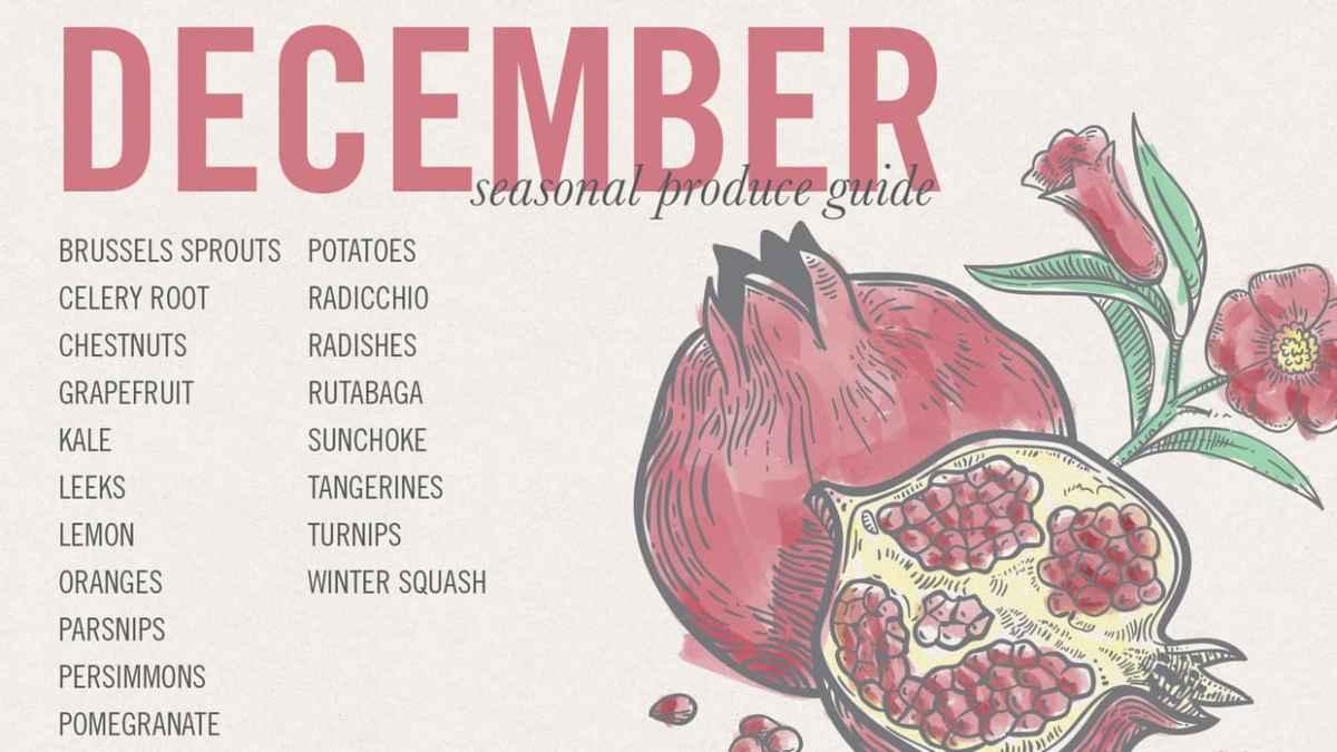 December Eat Seasonal
