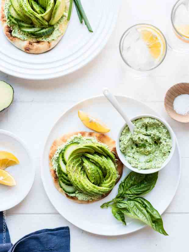 Green Goddess Dressing meets avocado toast in this epic Green Goddess Avocado Toast.