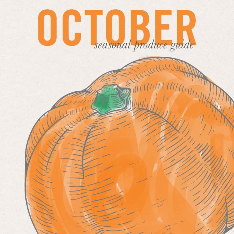 October Eat Seasonal Produce Guide