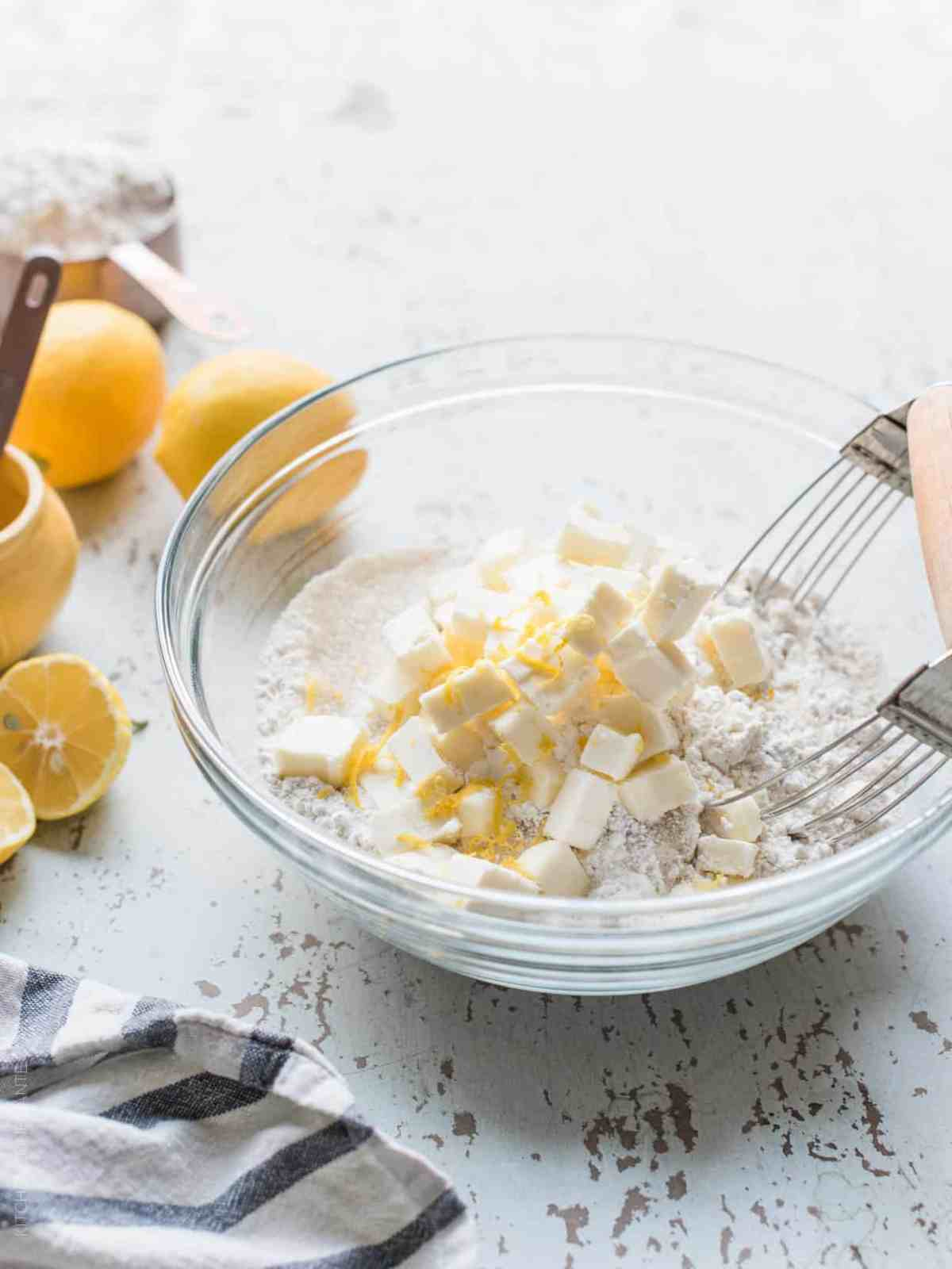 This recipe for Meyer Lemon Ricotta Scones will brighten up any winter morning with its moist, tender crumb and sweet lemon glaze.