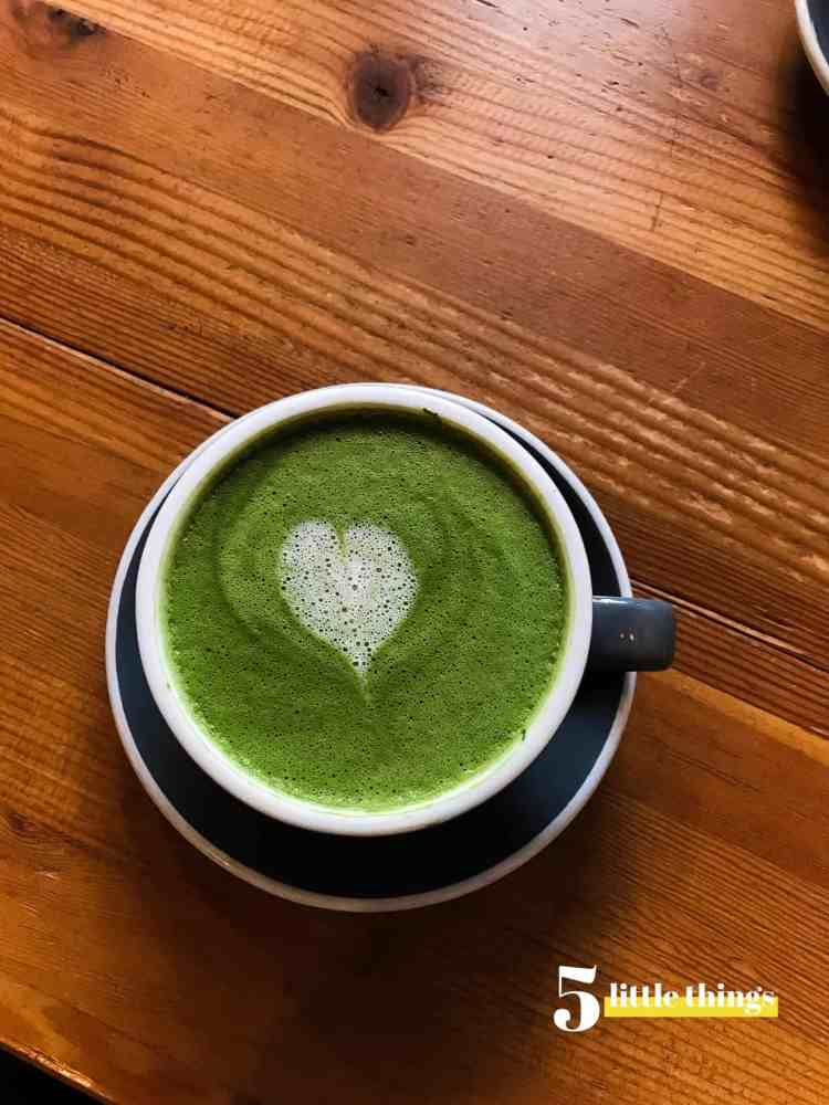 Matcha Lattes are one of Five Little Things I loved the week of March 29, 2019.