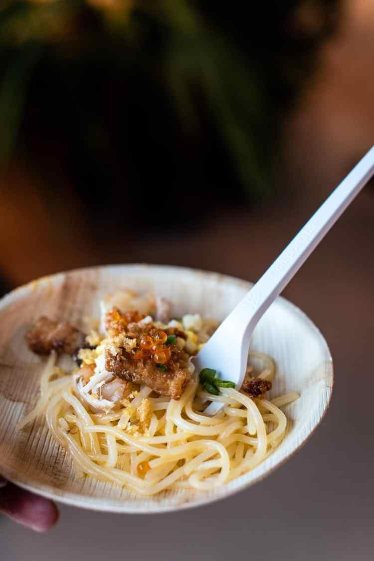 Uni Palabok from Chef Anna Marie Bayonito of Sticks, PBFW Grand Tasting, 2019.