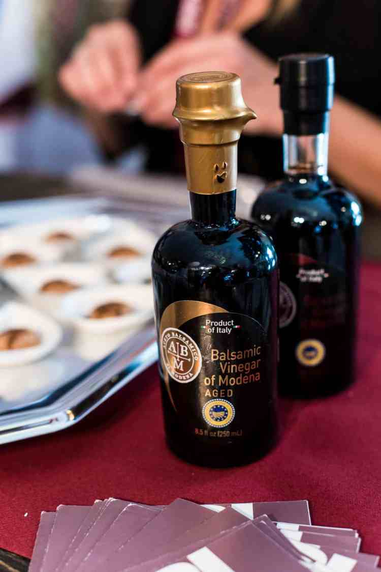 Balsamic Vinegar of Modena at PBFW 2019.