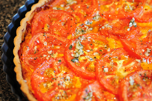 You Say Tomato, I Say Tomato. A Fresh Tart for Summer Entertaining!