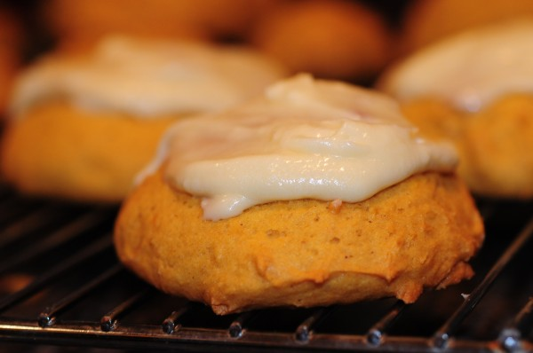 Frosted Pumpkin Cakelets