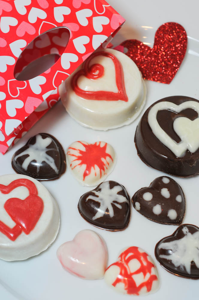 Chocolate Covered Oreos And Chocolate Hearts Just In Time For