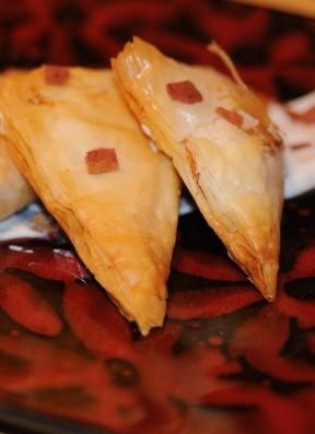Cardamon Cheese Triangles