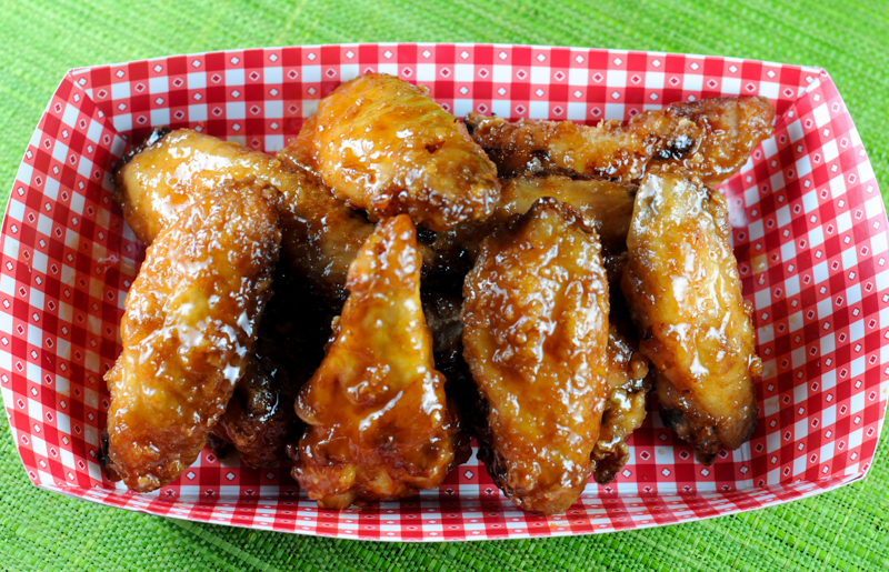 Crispy Sriracha Chicken Wings for the Big Game-6057