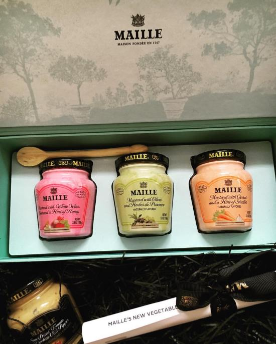 Maille Mustards- 2016 Spring