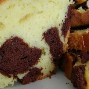 Your Favorite Chocolate Marble Cake Recipe.