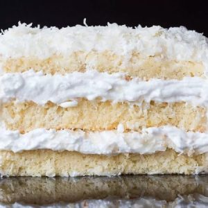 The Perfect Coconut Cake
