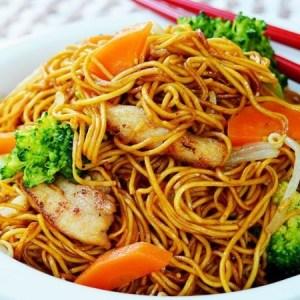 Stir Fry Chicken Noodles