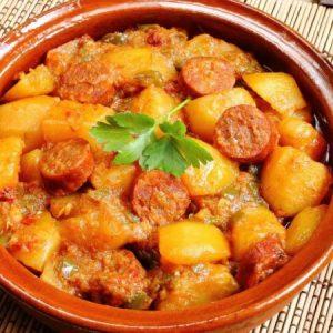 Potato and Chorizo Stew