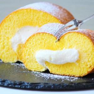 Swiss Roll Cake In a Frying Pan