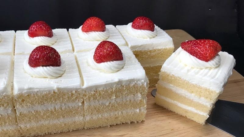 Fluffy Vanilla Cake