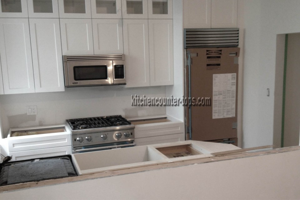 Designing a kitchen countertops