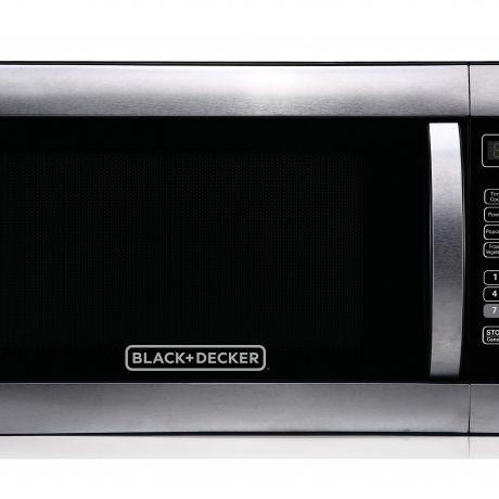 black decker em031mgg x1 1 1 cu ft microwave oven